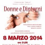 """""""Donne e Dintorni"""" – 7 marzo 2014 ore 21:00 – Invito Spettacolo"""