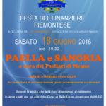 Festa del Finanziere Piemontese – 18 Giugno 2016 – Paella e Sangria