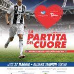 La Partita del Cuore 2019 – Lunedì 27 maggio 2019 ore 20:30 – Allianz Stadium Torino – Offerta riservata